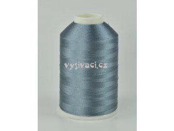 vyšívací nitě šedá ROYAL C556 návin 5000m viskóza
