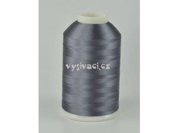 vyšívací nitě šedá ROYAL C494 návin 5000m viskóza