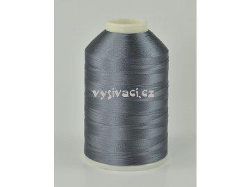vyšívací nitě šedá ROYAL C192 návin 5000m viskóza