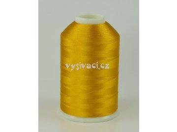 vyšívací nitě žlutá ROYAL C741 návin 5000m viskóza