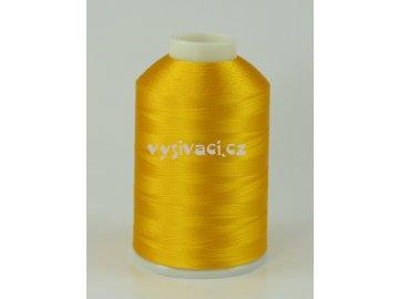 vyšívací nitě žlutá ROYAL C739 návin 5000m viskóza