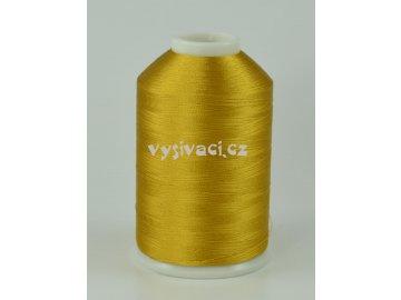 vyšívací nitě hnědá ROYAL C542 návin 5000m viskóza