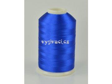 vyšívací nitě modrá ROYAL C777 návin 5000 metrů viskóza