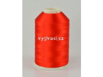 vyšívací nitě červená ROYAL C719 návin 5000 metrů viskóza