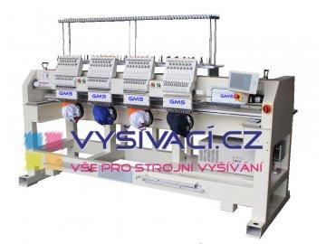 vyšívací stroj průmyslový čtyřhlavový patnáctibarevný GMS-GT1504