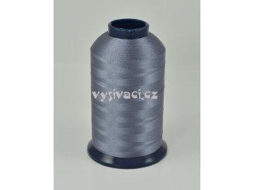 vyšívací nit šedá ROYAL P322 5000m polyester