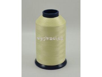 vyšívací nit žlutá ROYAL P002 5000m polyester