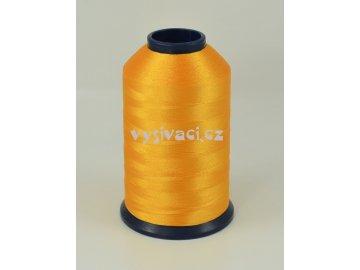 vyšívací nit žlutá ROYAL P188 5000m polyester