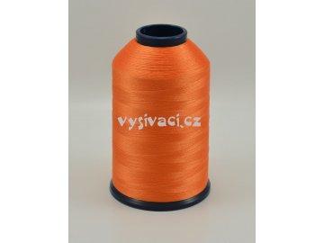 vyšívací nit oranžová ROYAL P042 5000m polyester