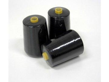 nit spodní pro vyšívání SPOLY 100/2 návin 10 000 metrů barva černá