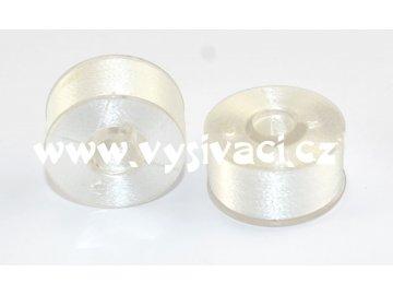 cívky předvinuté bílé plastová cívka