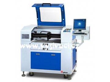 GBOS GN 640 CCD5.0 - malý CO2 řezací laser s polohovací kamerou