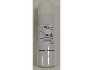 lepidlo ve spreji ATE 103 pro dočasnou fixaci materiálu při vyšívání,  balení spray 500ml