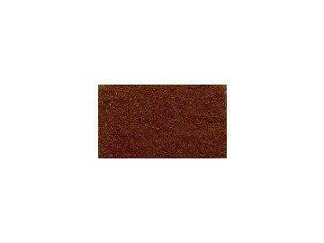 FILC pro vyšívání nášivek a aplikací, tloušťka cca 1mm, barva č. 130 hnědá DOPRODEJ ZBYTKU  cca 110x112cm