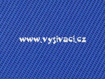 ELEGANT materiál pro vyšívání nášivek a aplikací š.150cm barva 230 královská modrá