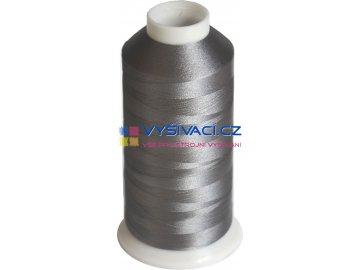 Vyšívací nit polyesterová P3189 šedá