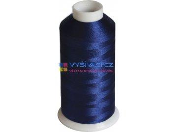 Vyšívací nit polyesterová P3109 modrá
