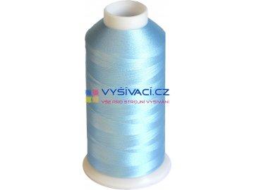 Vyšívací nit polyesterová P3133 modrá