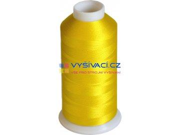 Vyšívací nit polyesterová P3034 žlutá