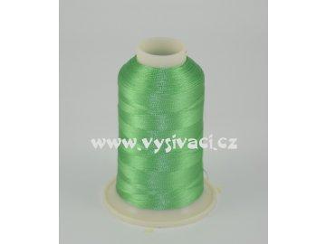 vyšívací nit zelená ROYAL C168 návin 1000m viskóza