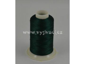 vyšívací nit zelená ROYAL C465 návin 1000m viskóza