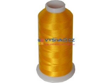 Vyšívací nit polyesterová P3037 žlutá