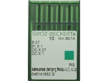 jehla B27  90 RG Groz-Beckert, balení 10ks nebo 100ks
