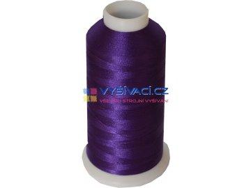 Vyšívací nit polyesterová P3099 fialová