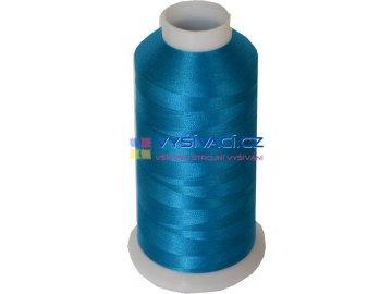 Vyšívací nit polyesterová P3146 modrá