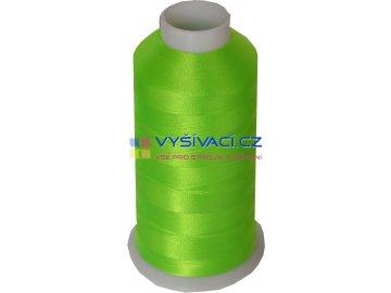 Vyšívací nit polyesterová P3162 zelená