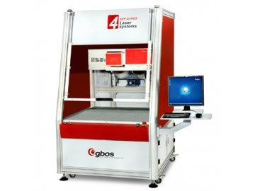 GBOS XXP4 3D - galvanometrický značkovací a řezací laser s velkou pracovní plochou