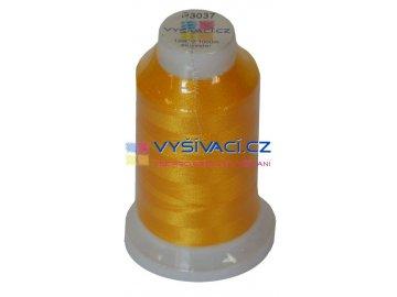 vyšívací nit polyester barva žlutá P3037 návin 1000m  33,30 Kč s DPH za kón při nákupu balení 10 kusů