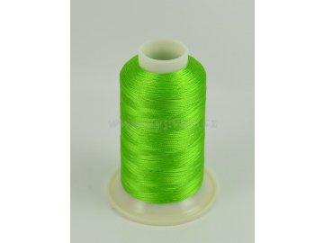 vyšívací nit zelená ROYAL C638 návin 1000m viskóza