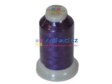 polyesterová vyšívací nit P3099 fialová 1000m