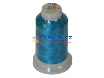 polyesterová vyšívací nit P3146 modrá 1000m