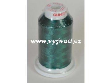 vyšívací nit zelená ROYAL C464 návin 1000m viskóza  nahrazena nití Sulky 1208