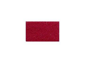 FILC pro vyšívání nášivek a aplikací, tloušťka cca 1mm, barva č. 175 vínově červená DOPRODEJ ZBYTKU cca 90x112cm