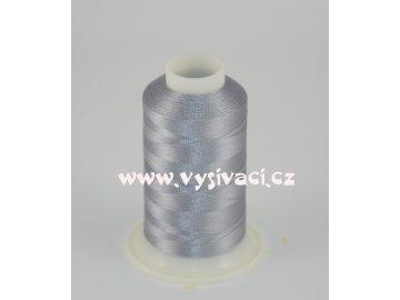 vyšívací nit šedá ROYAL C354 návin 1000m viskóza  dočasně nahrazena nití Sulky 1329