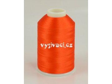 vyšívací nitě oranžová ROYAL C359 návin 5000 metrů viskóza