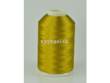 vyšívací nitě hnědá ROYAL C736 návin 5000m viskóza