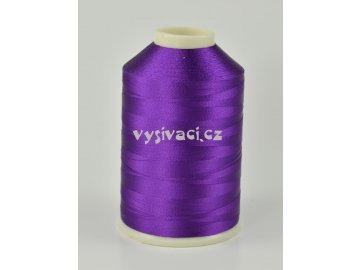 vyšívací nitě fialová ROYAL C515 návin 5000 metrů viskóza
