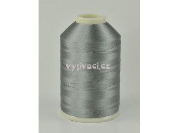 vyšívací nitě šedá ROYAL C435 návin 5000m viskóza