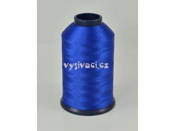 vyšívací nit modrá ROYAL P066 5000m polyester
