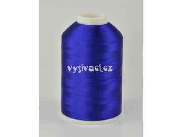 vyšívací nitě modrá ROYAL C355 návin 5000 metrů viskóza