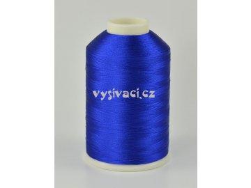 vyšívací nitě modrá ROYAL C135 návin 5000 metrů viskóza