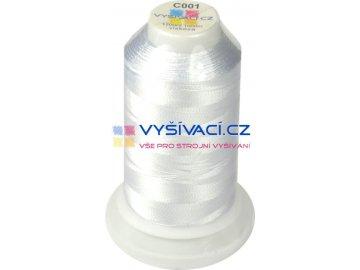 Vyšívací nit GUNOLD Sulky 1001 bílá