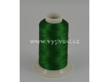 vyšívací nit zelená ROYAL C751 návin 1000m viskóza