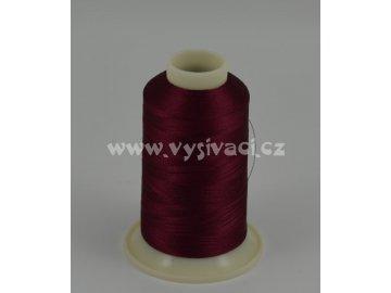 vyšívací nit červená ROYAL C707 návin 1000m viskóza