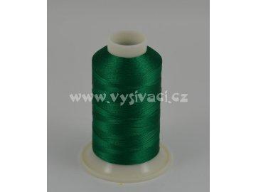 vyšívací nit zelená ROYAL C753 návin 1000m viskóza