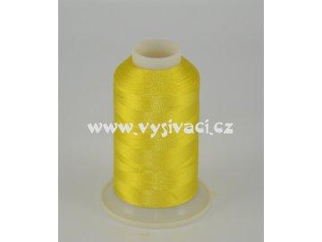 vyšívací nit žlutá ROYAL C008 návin 1000m viskóza